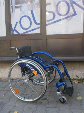 Wózek inwalidzki aktywny QUICK