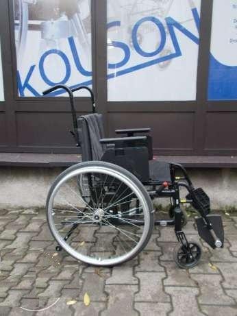 Wózek inwalidzki szwecki 44cm szerokości