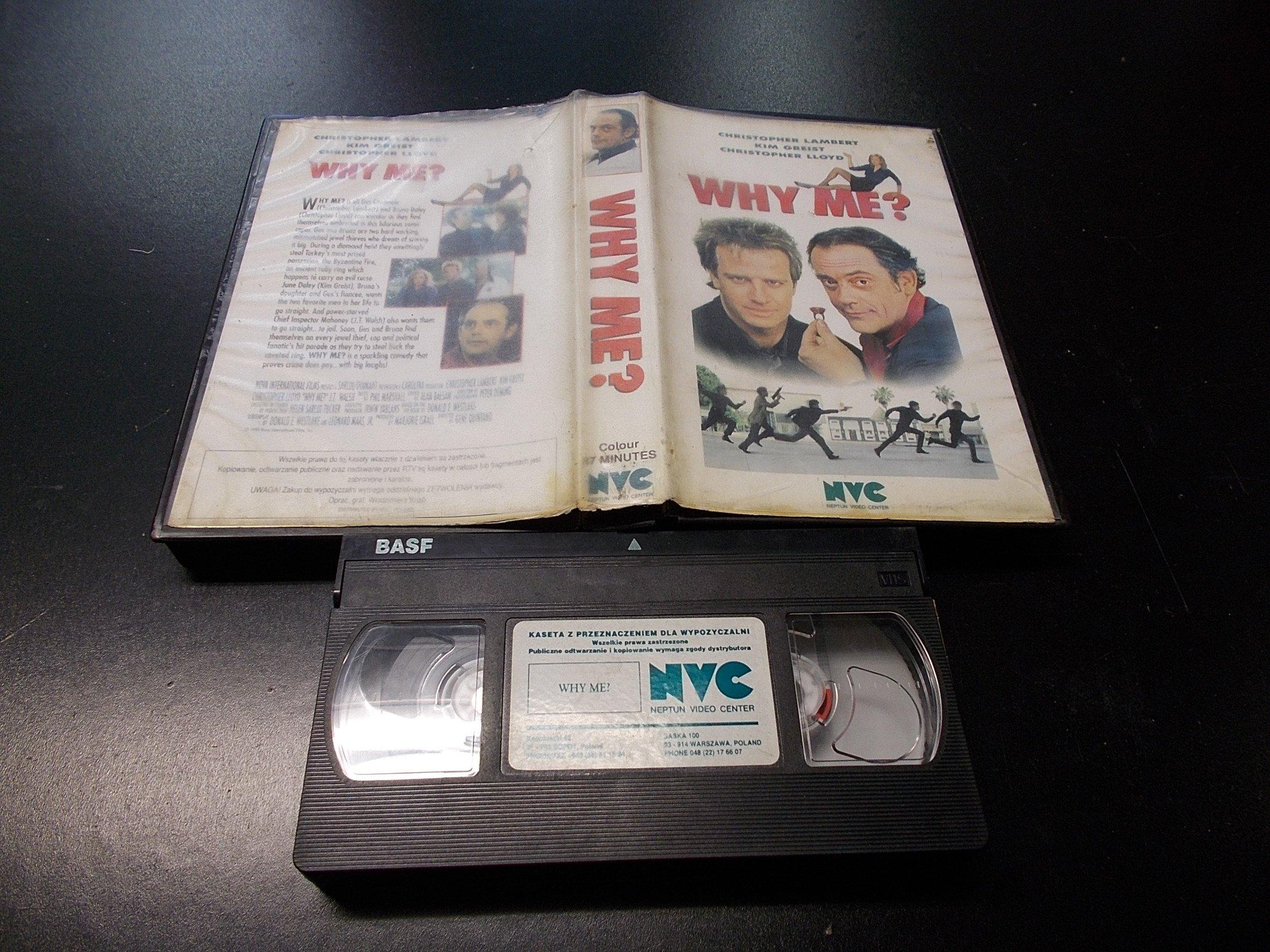 WHY ME -  kaseta VHS - 1253 Opole - AlleOpole.pl