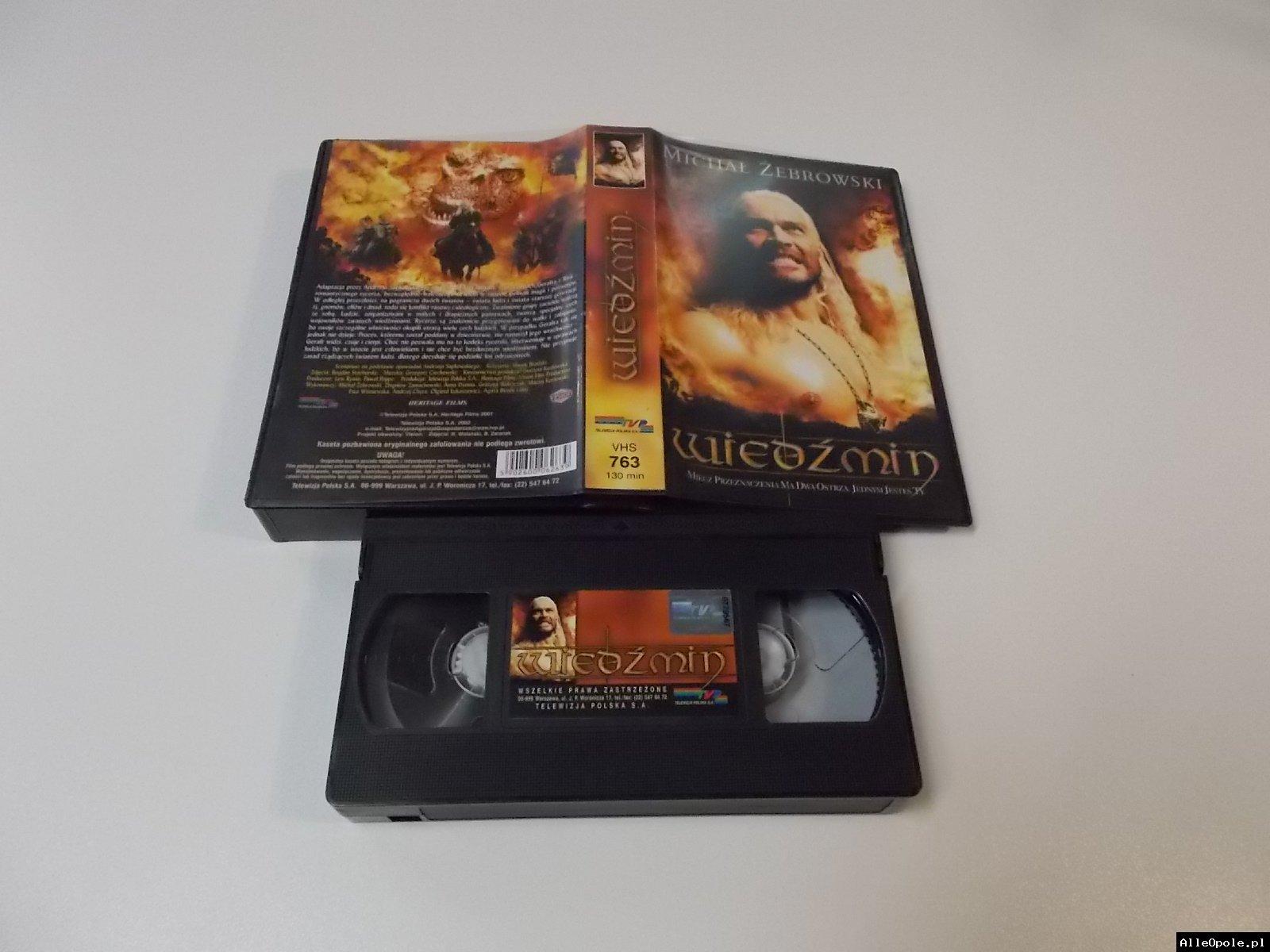 WIEŹMIN - VHS Kaseta Video - Opole 1717