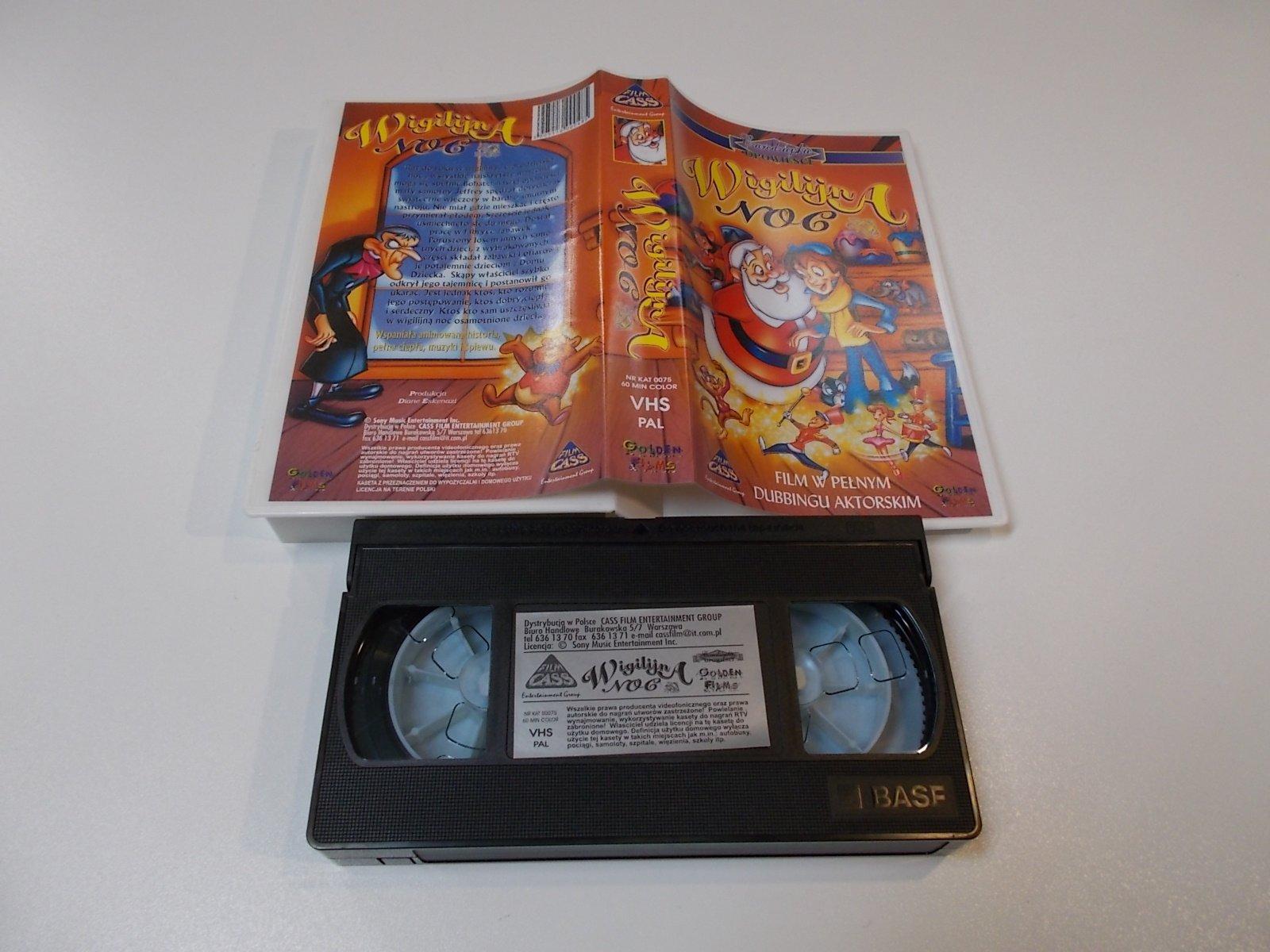 WIGILIJNA NOC - VHS Kaseta Video - Opole 1676
