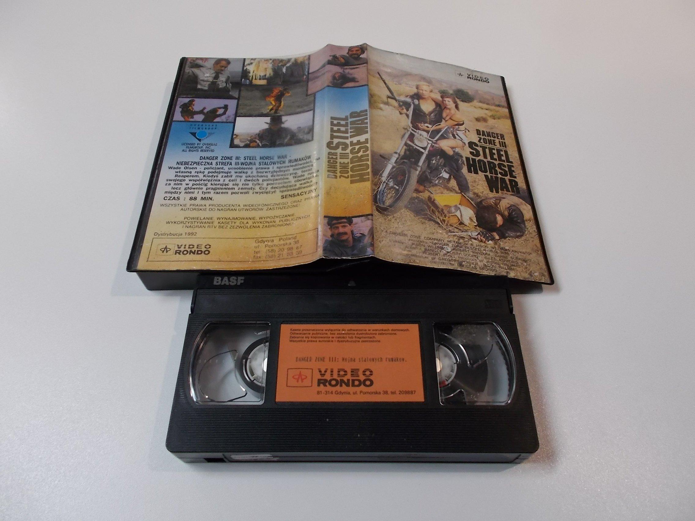 WOJNA STALOWYCHRUMAKÓW - Kaseta Video VHS - Opole 1538