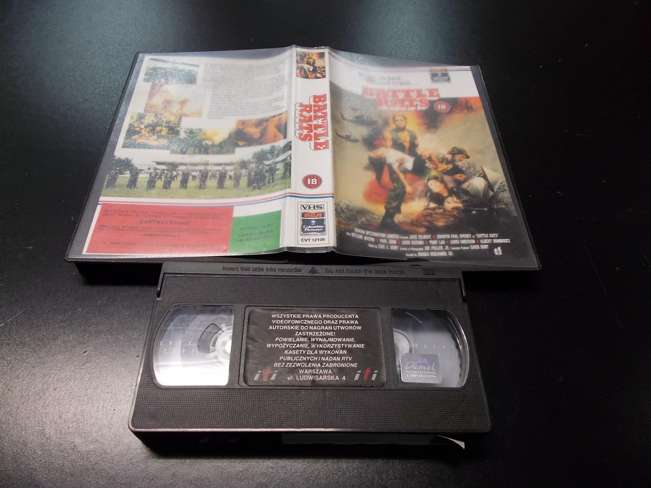 WOJNY SZCZURÓW  -  kaseta Video VHS - 1306 Opole - AlleOpole.pl