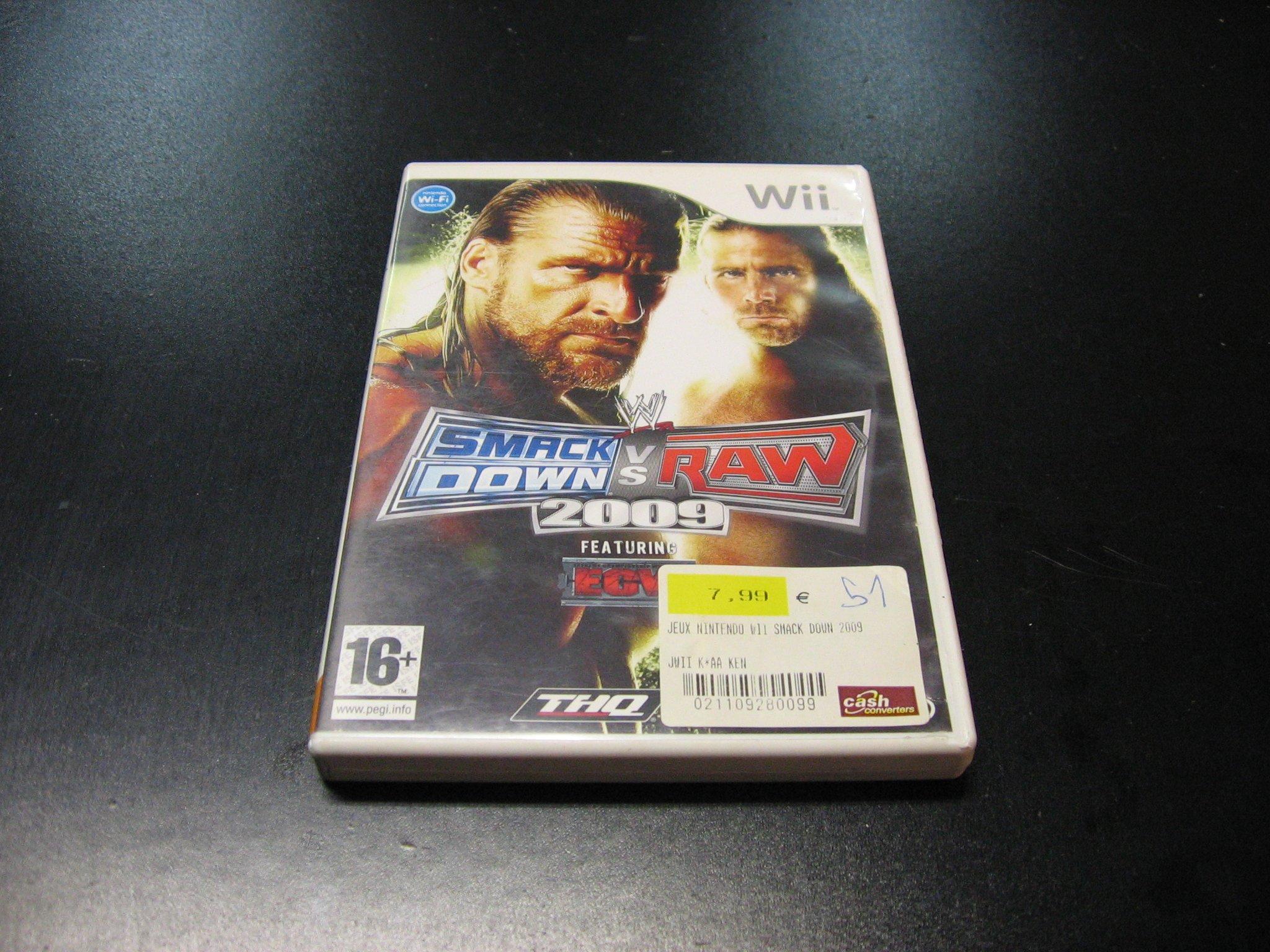 WWE SmackDown vs Raw 2009 - GRA Nintendo Wii Sklep