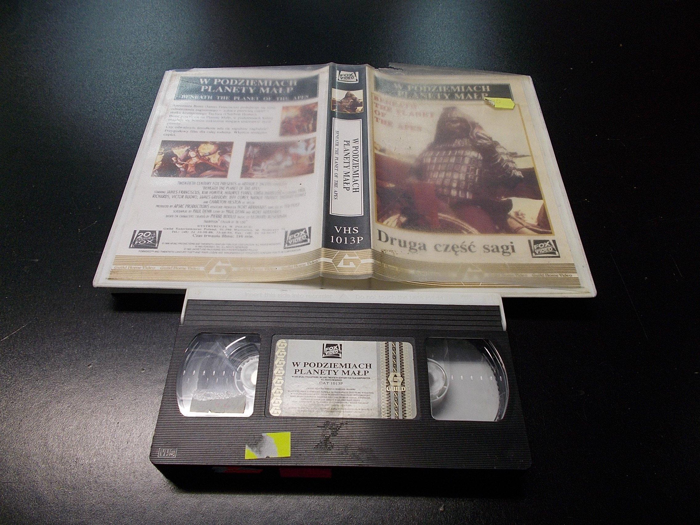 W PODZIEMIACH PLANETY MAŁP  -  kaseta VHS - 1303 Opole - AlleOpole.pl