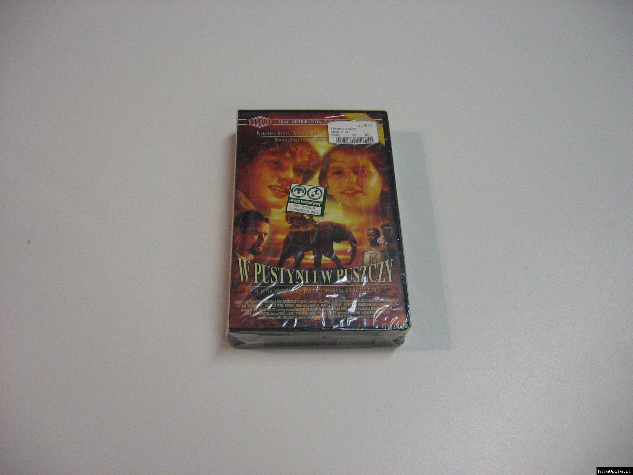 W PUSTYNI I W PUSZCZY - VHS Kaseta Video - Opole 1801