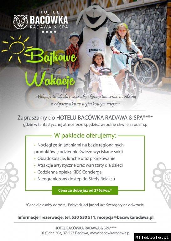 Wakacje w Hotelu Bacówka Radawa & SPA