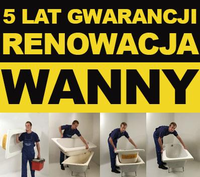 Wanna W Wannie - 5 lat gwarancji / Nowa wanna bez remontu