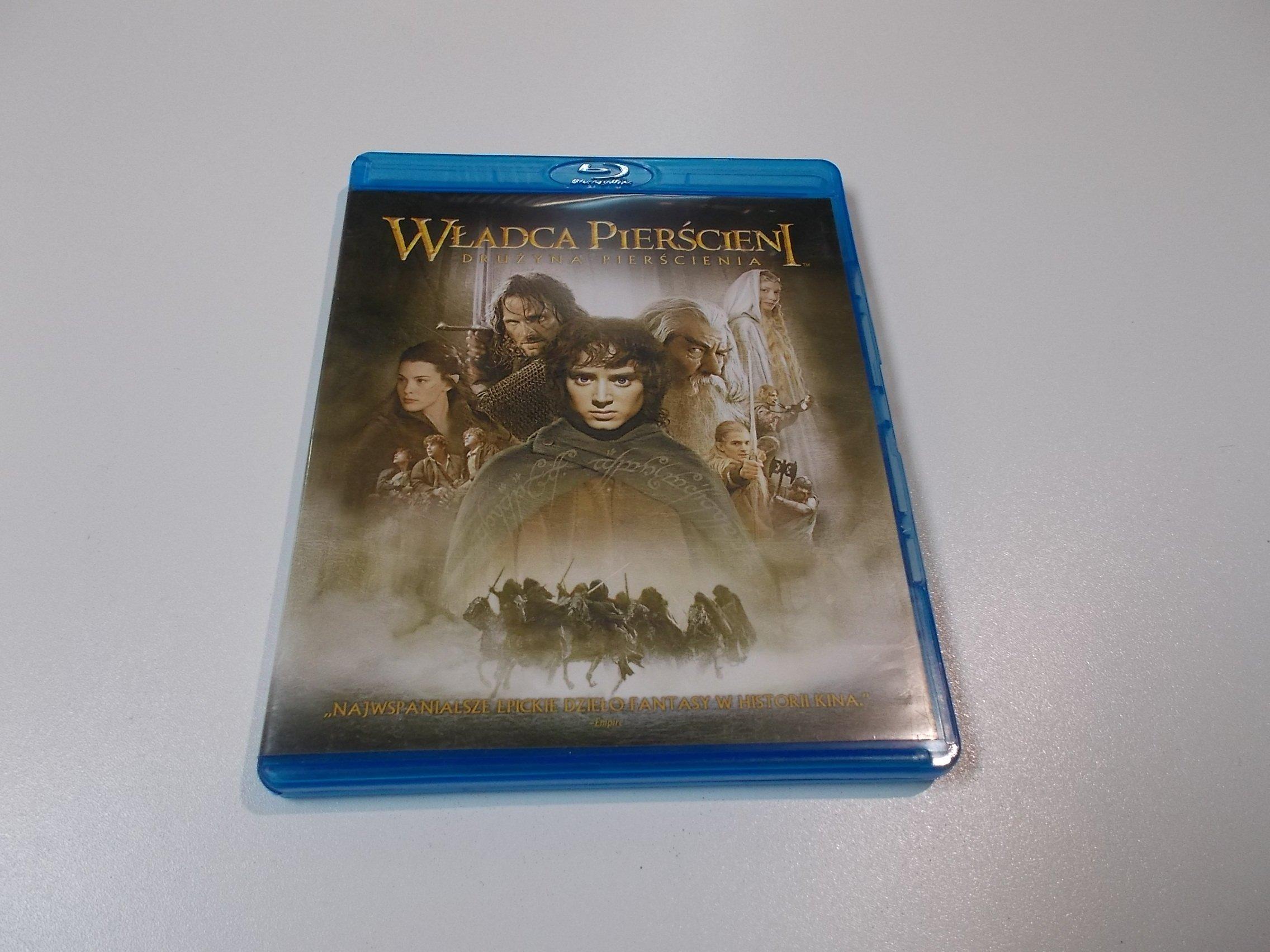 Władca Pierścieni Drużyna Pierścienia - Blu-ray - Sklep