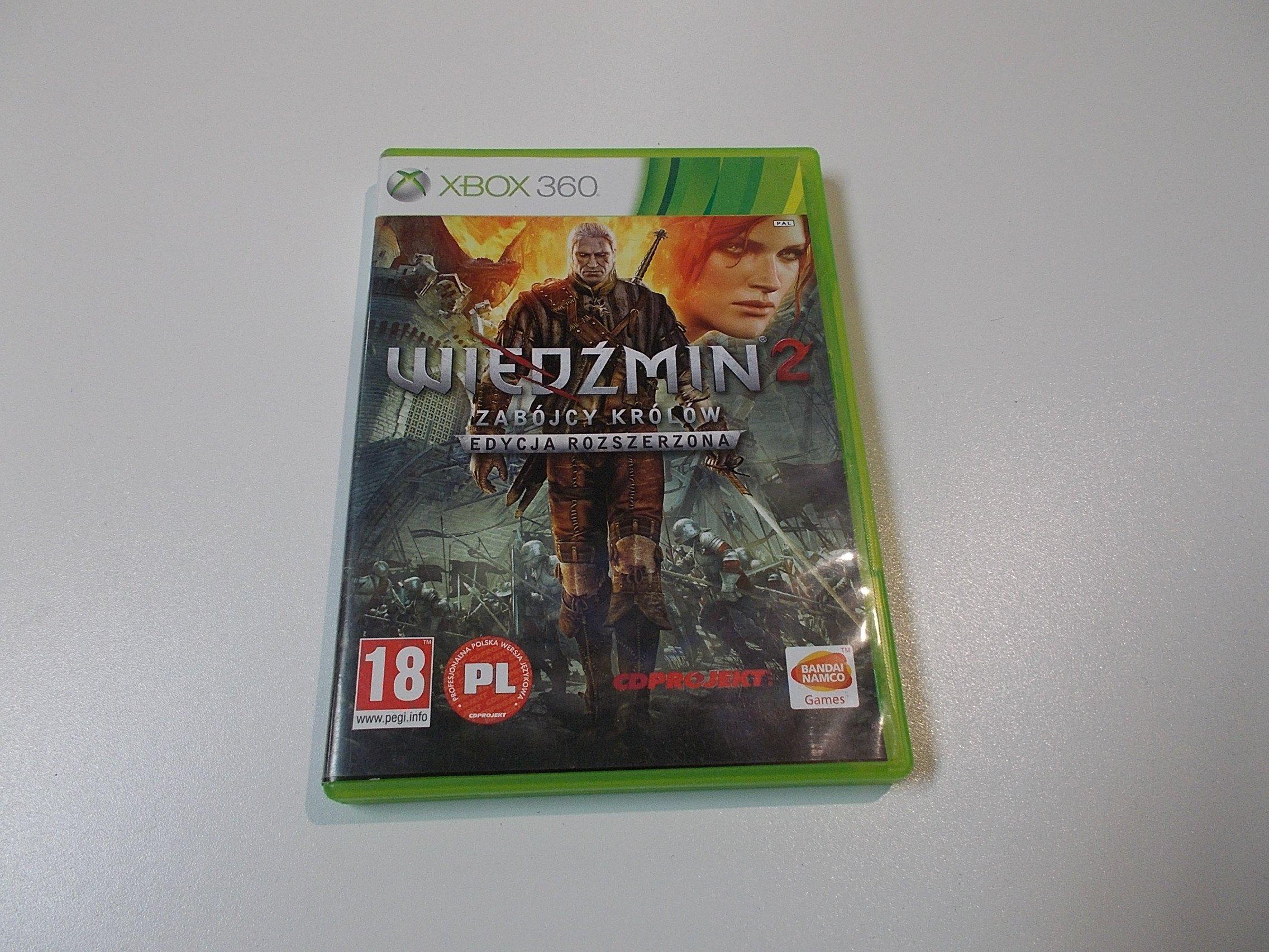 Wiedźmin 2 Zabójcy Królów - GRA Xbox 360 - Sklep