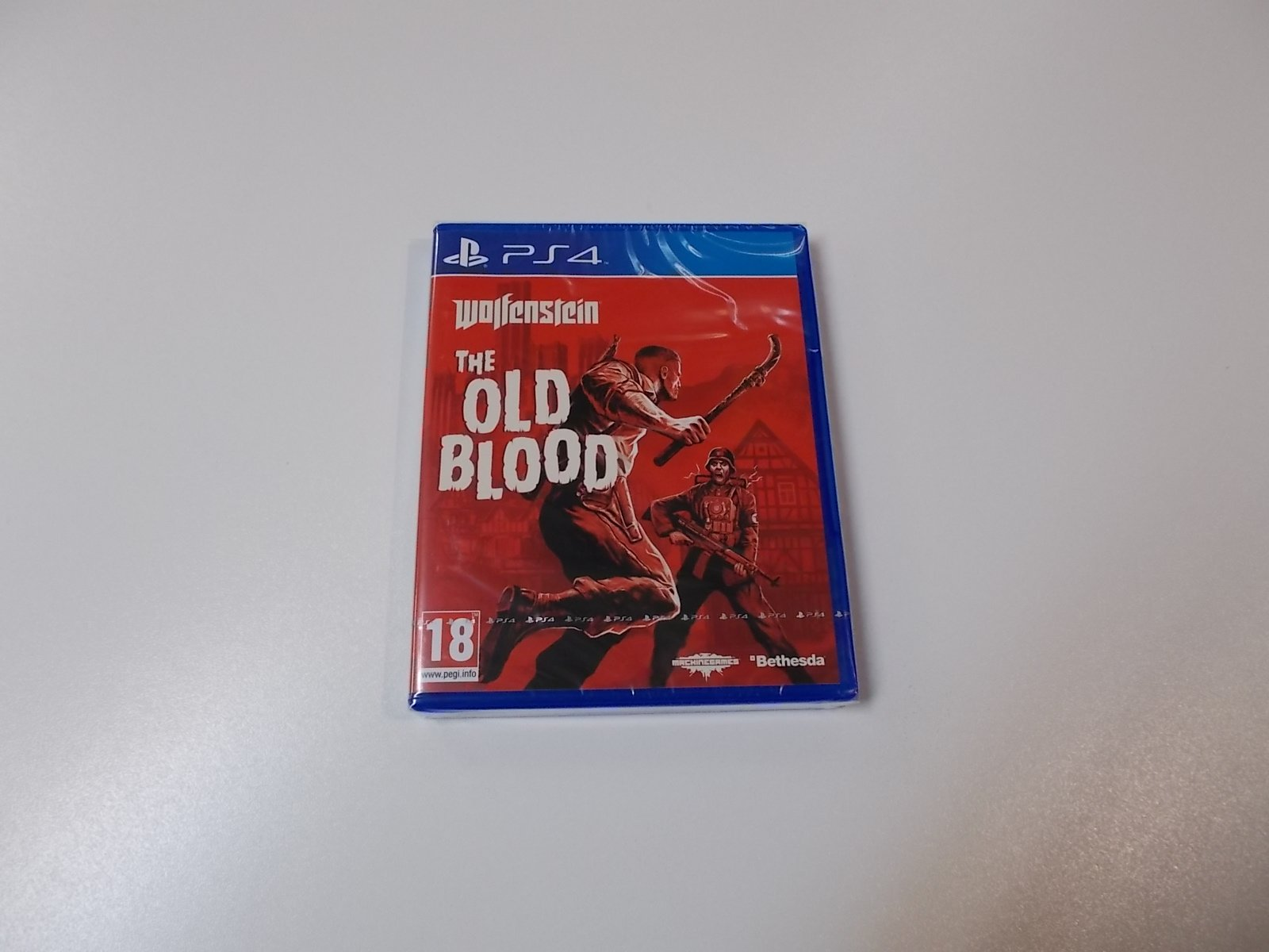 Wolfenstein The Old Blood - GRA Ps4 - Opole 0467