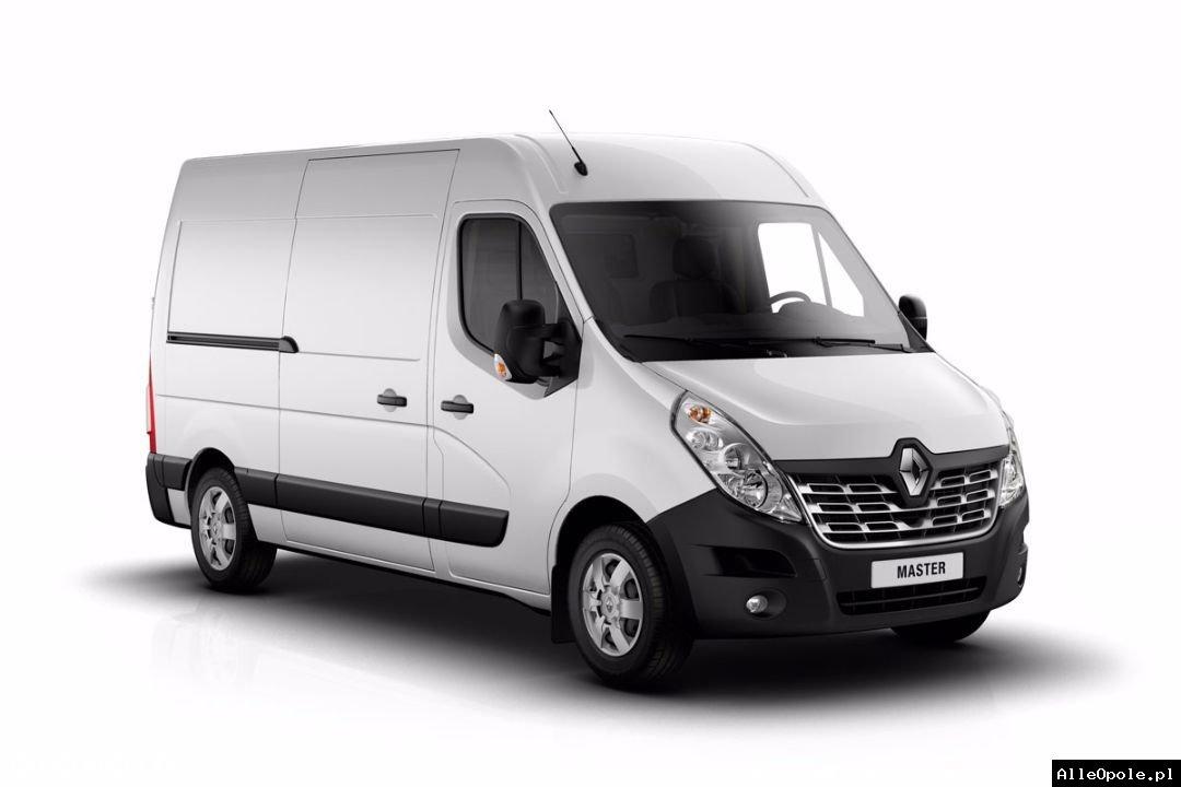 """Wynajem - bus dostawczy Renault Master L3H2 furgon """"blaszak"""" HAK - już od 140 ZŁ - wypożyczalnia aut dostawczych"""