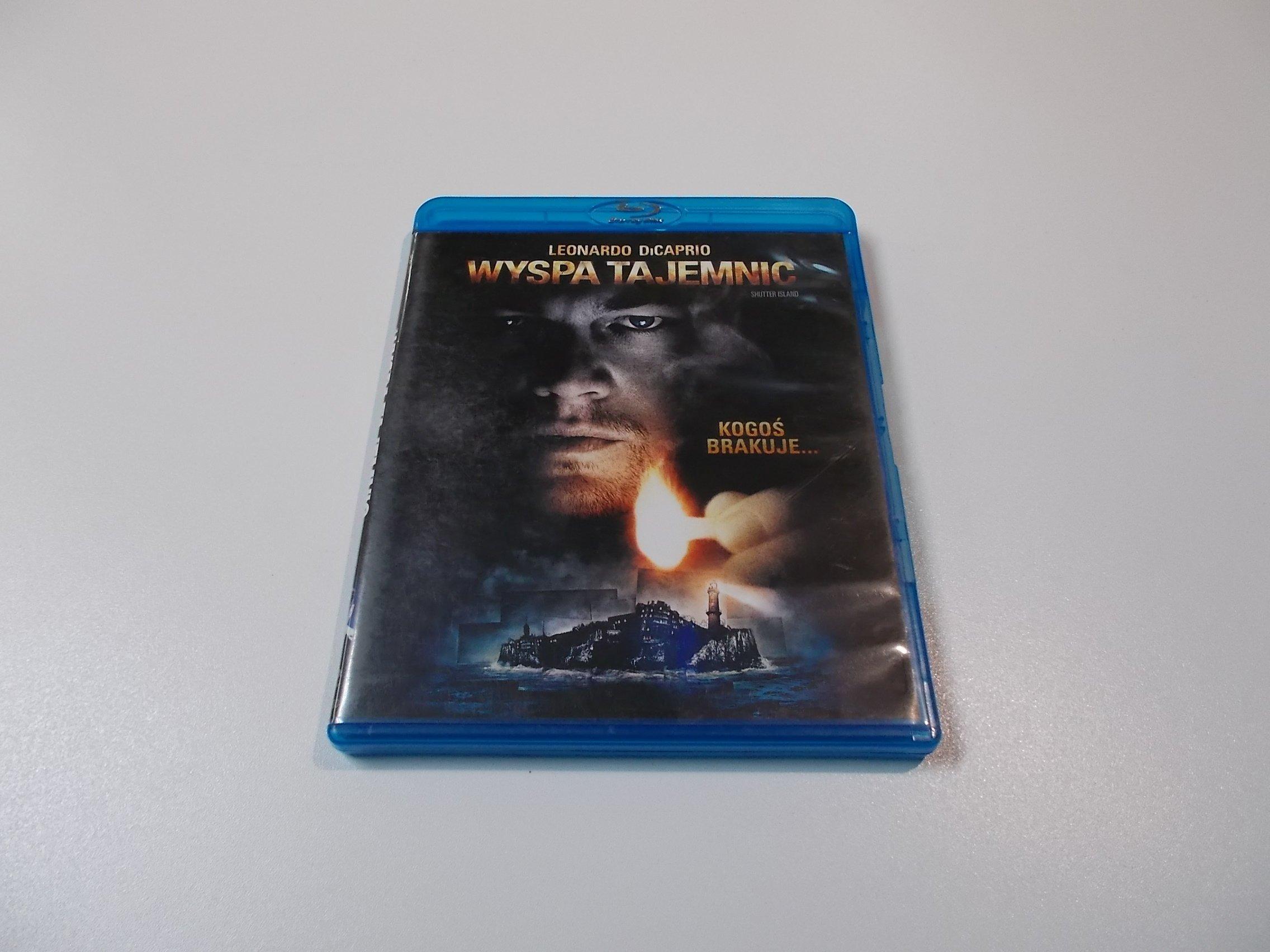 Wyspa Tajemnic - Leonardo DiCaprio - Blu-ray - Sklep