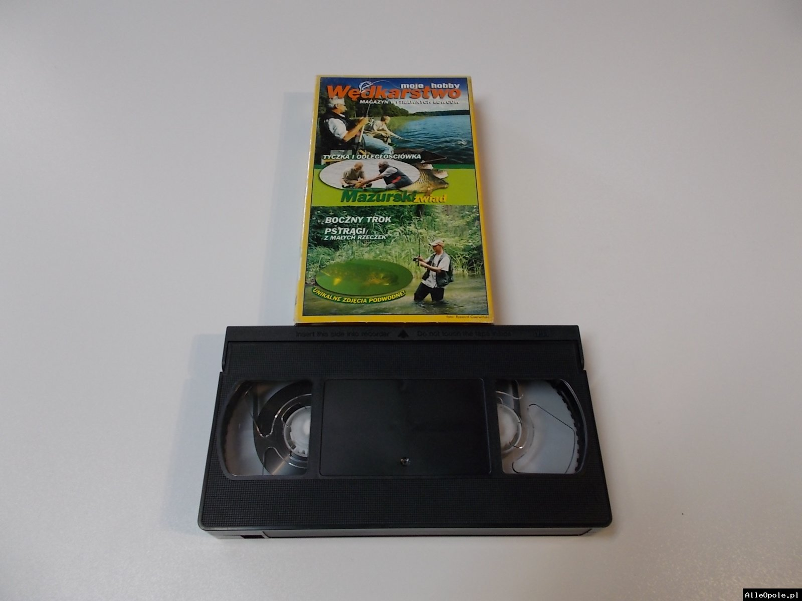 WĘDKARSTWO MAZURSKI ZWIAD - VHS Kaseta Video - Opole 1694