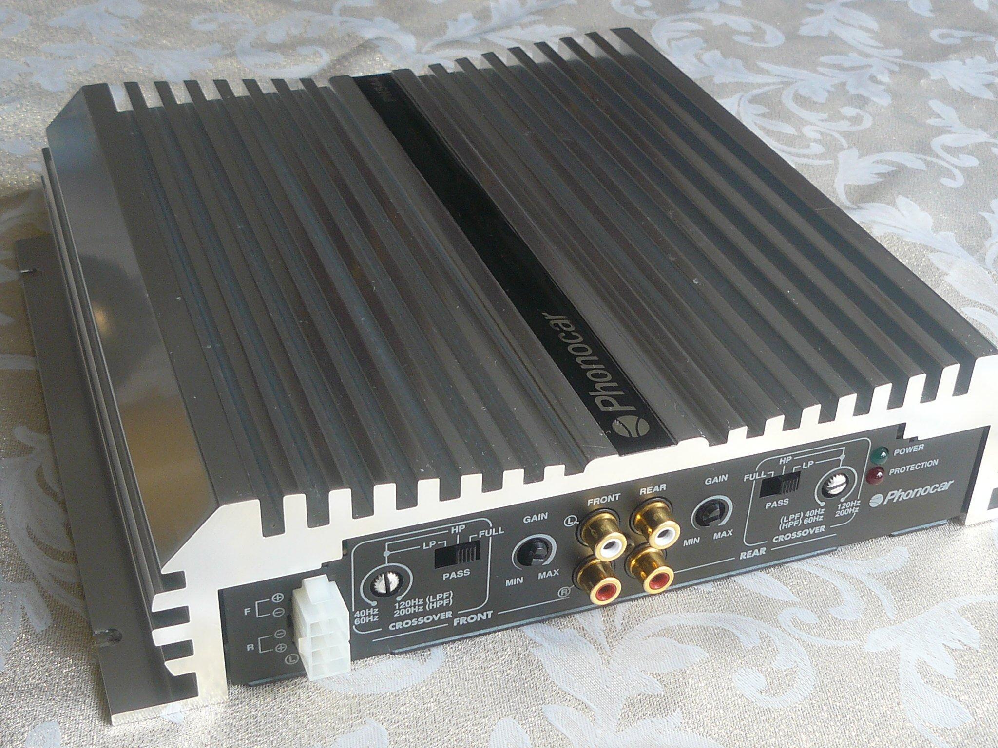 Wzmacniacz samochodowy PHONOCAR PH 544