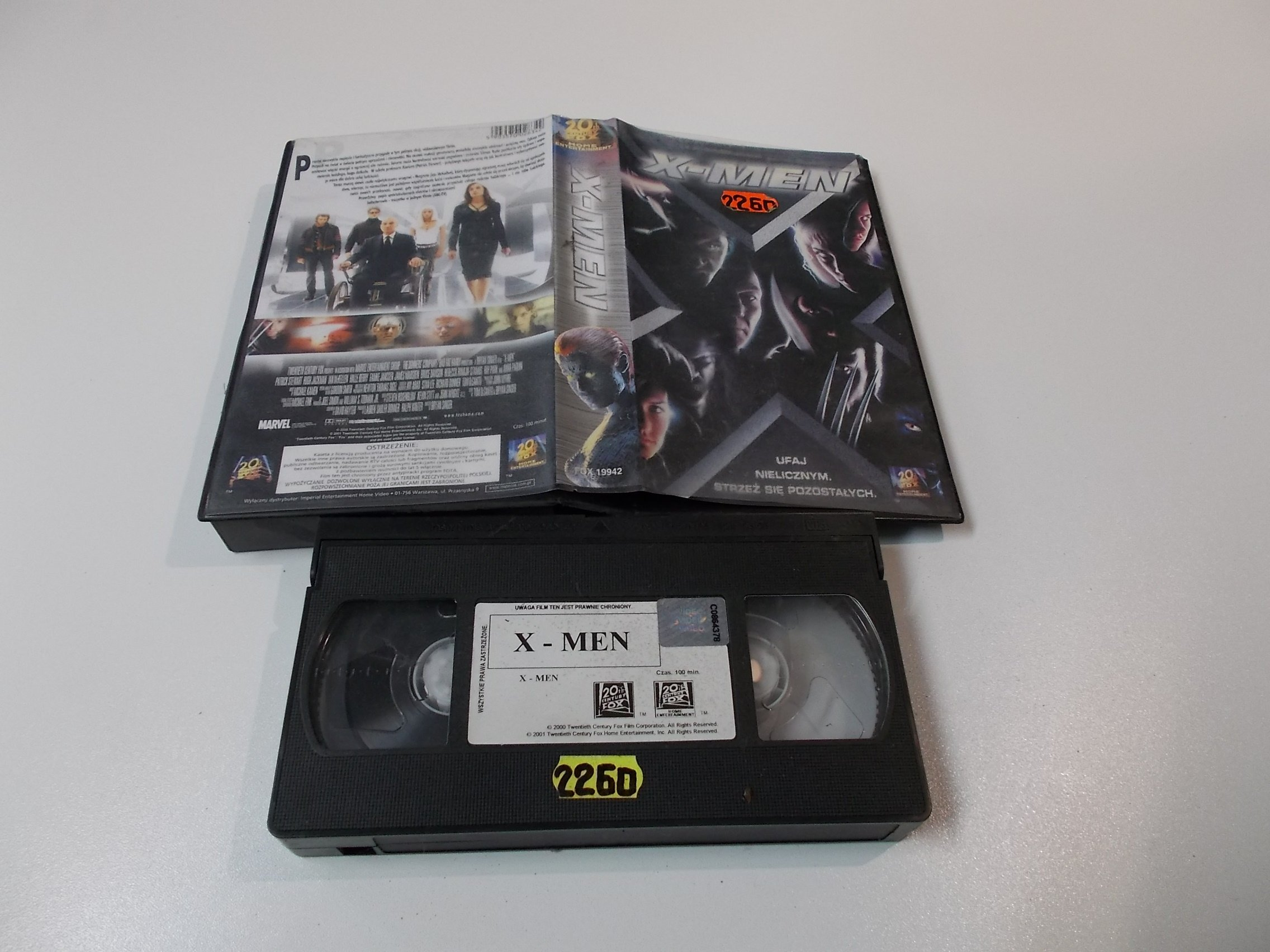 X-MEN - VHS Kaseta Video - Opole 1595