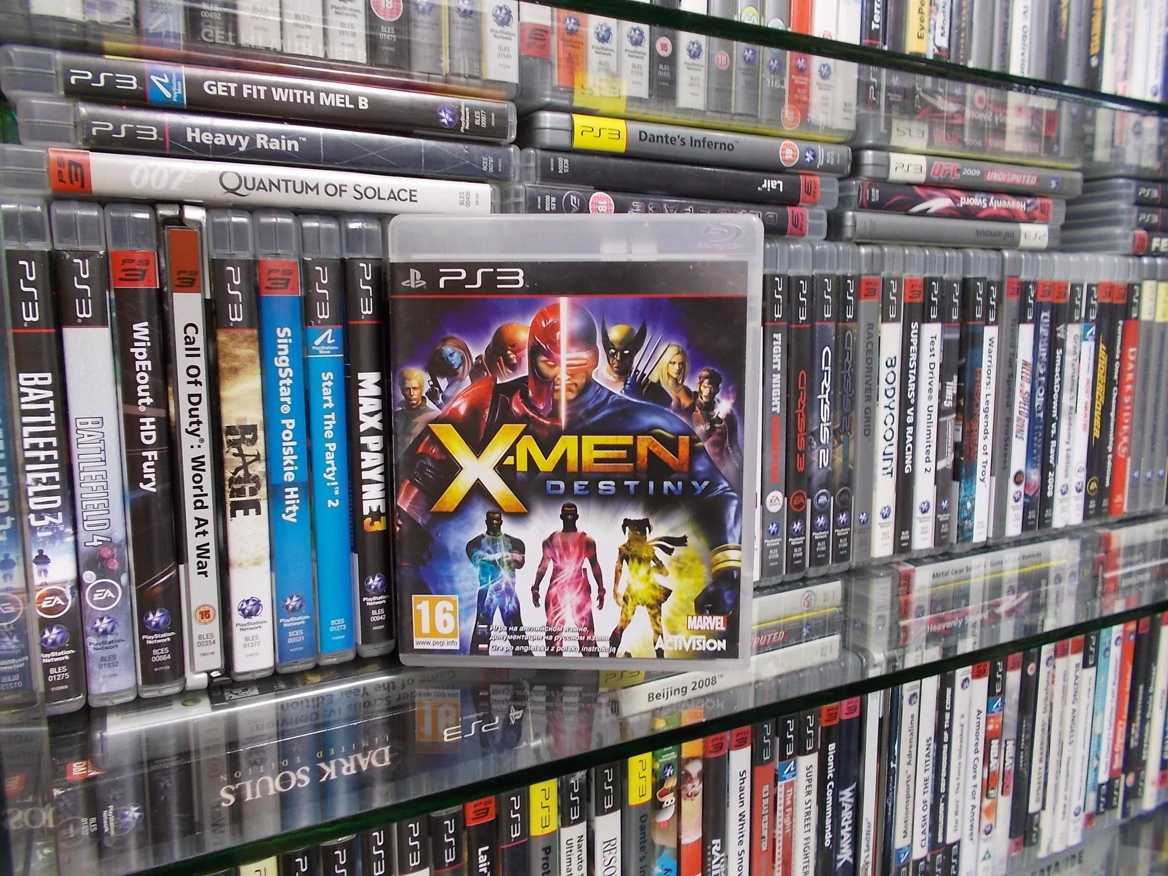 X-Men Destiny - GRA PS3 Sklep