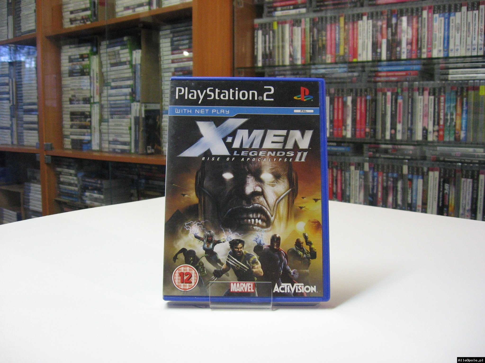 X-Men Legends 2 ll - RISE OF APOCALYPSE - GRA Ps2 - Opole 0578