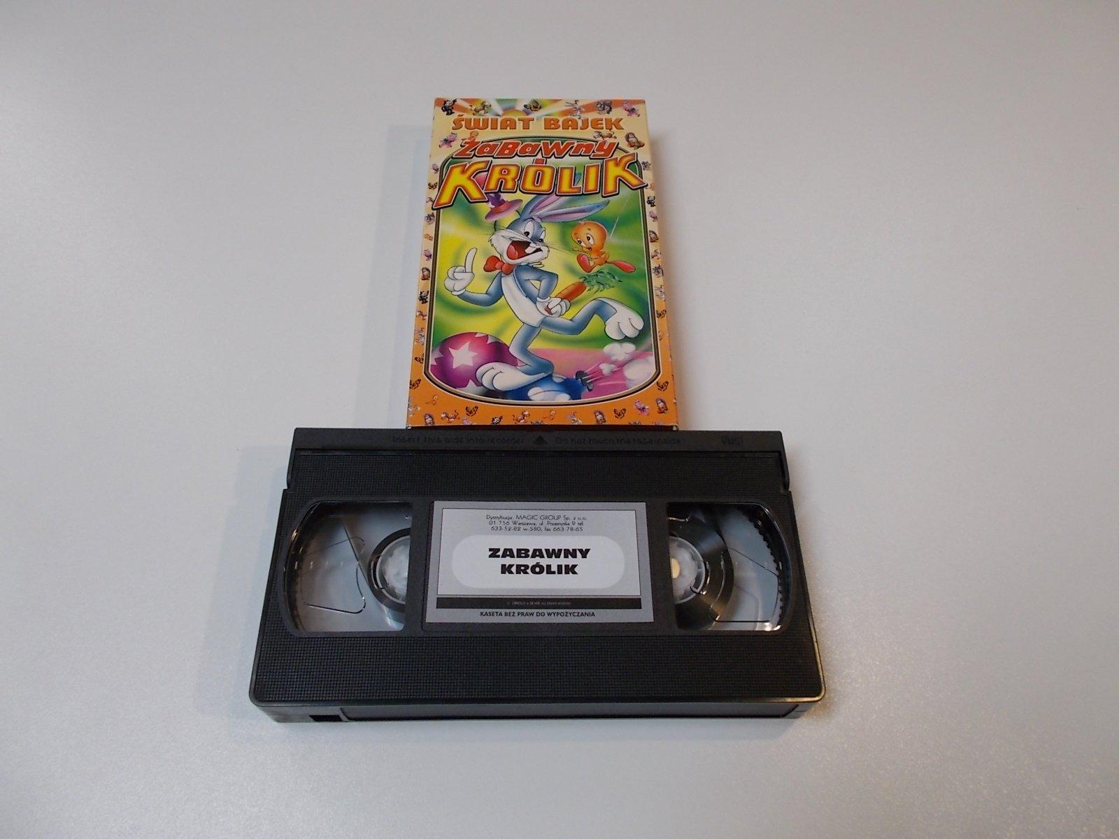 ZABAWNY KRÓLIK - VHS Kaseta Video - Opole 1675