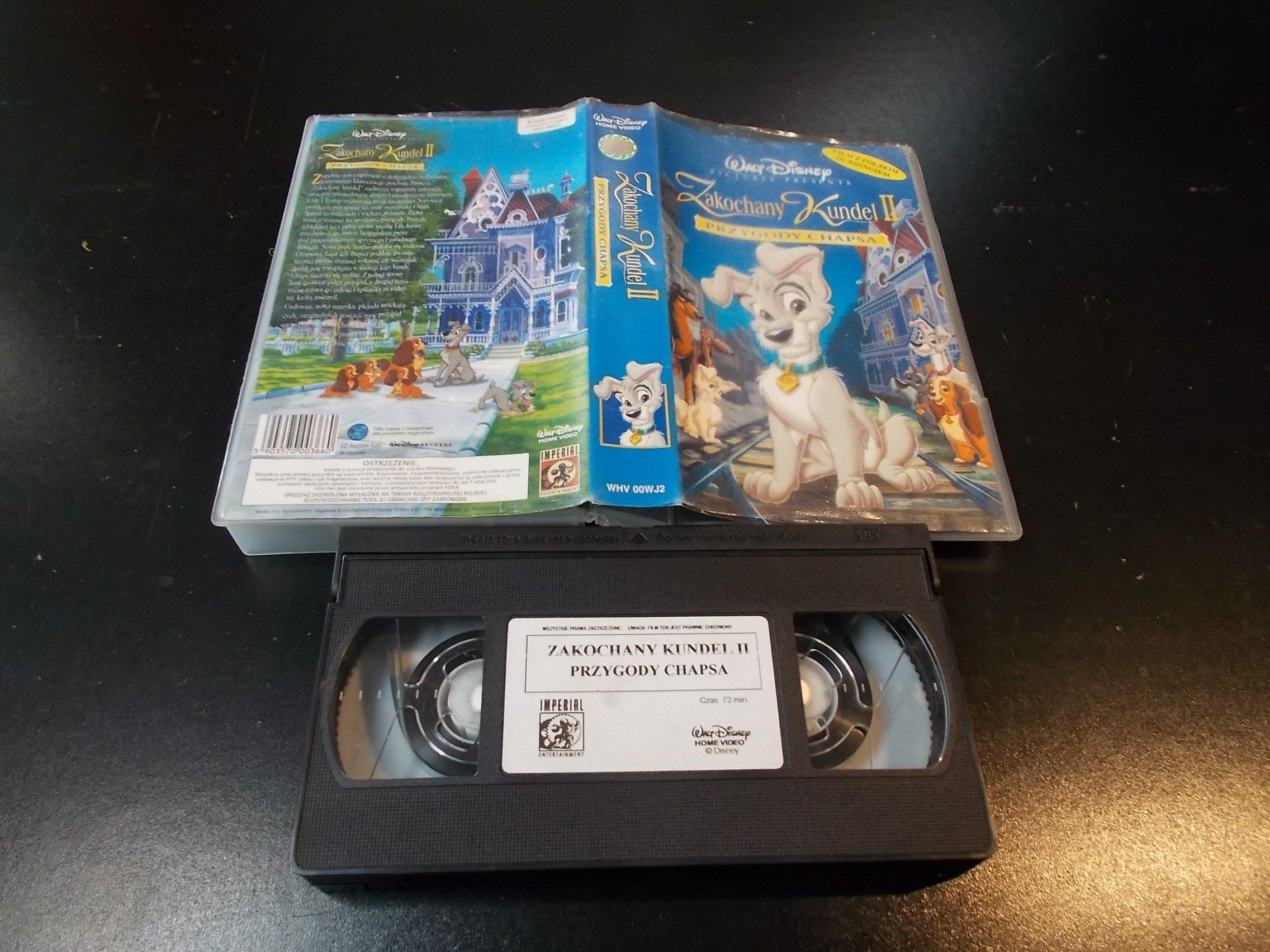 ZAKOCHANY KUNDEL 2 - kaseta Video VHS - 1345 Sklep