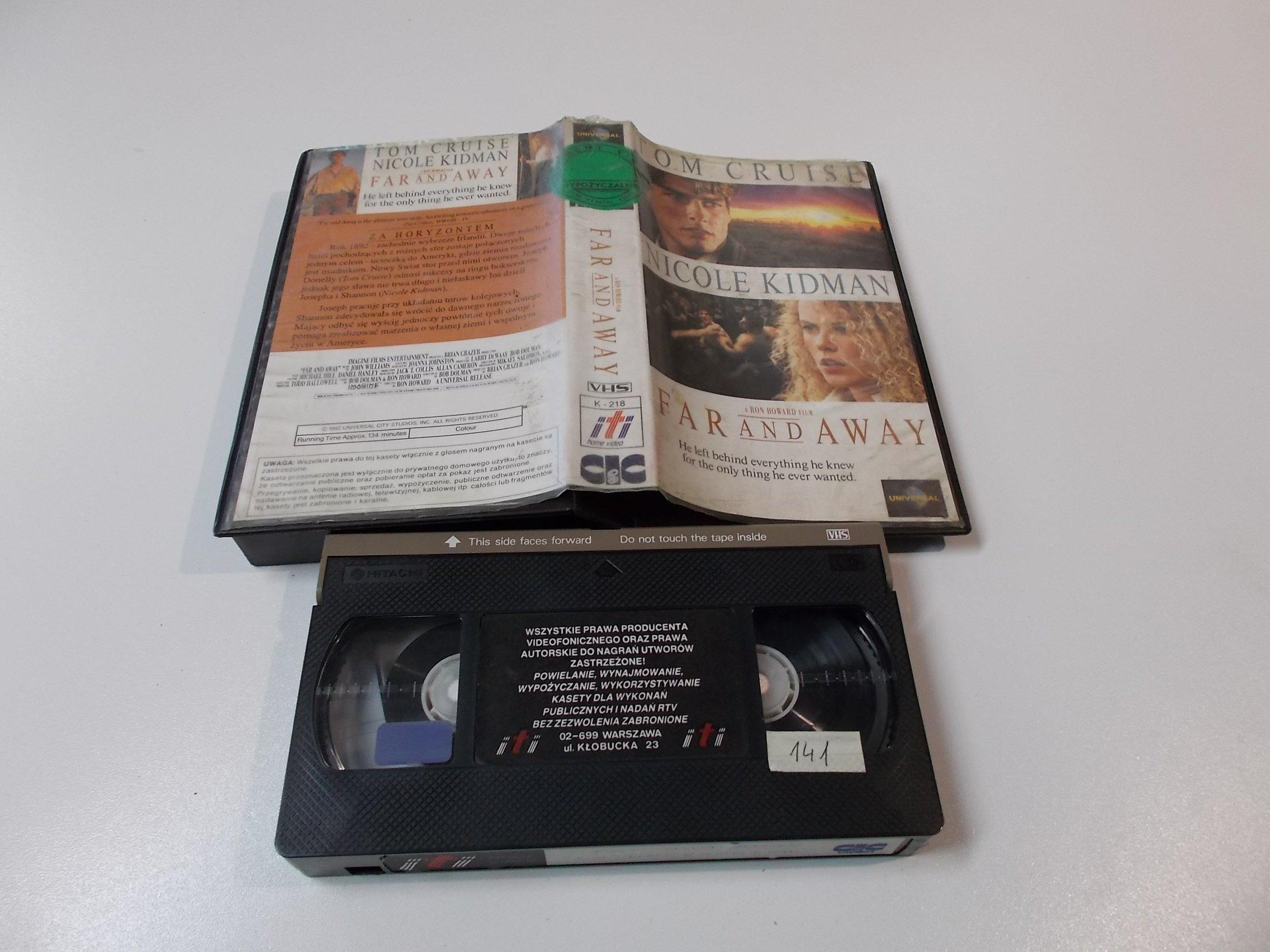 ZA HORYZONTEM - Kaseta Video VHS - Opole 1531