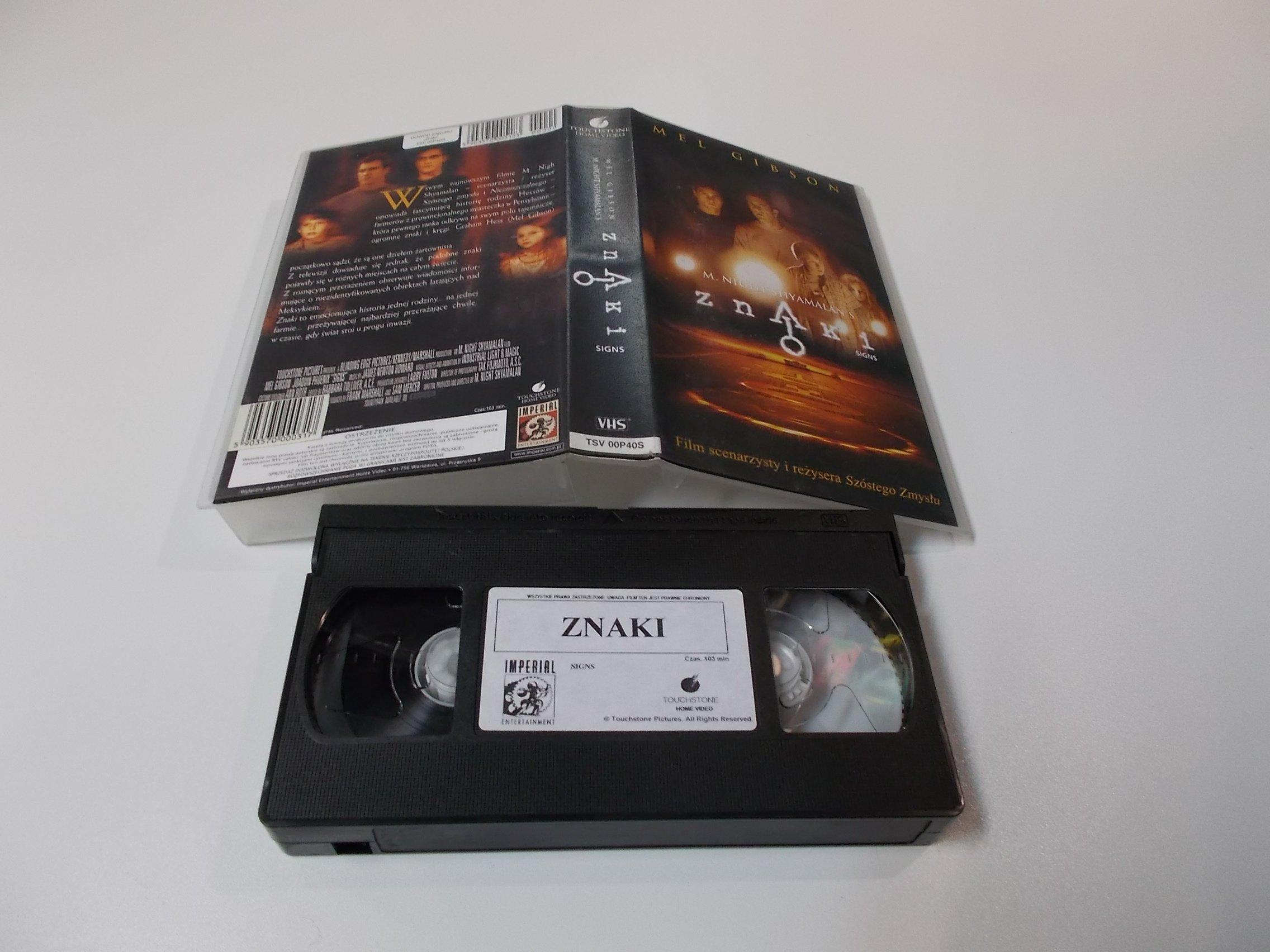 ZNAKI - VHS Kaseta Video - Opole 1630