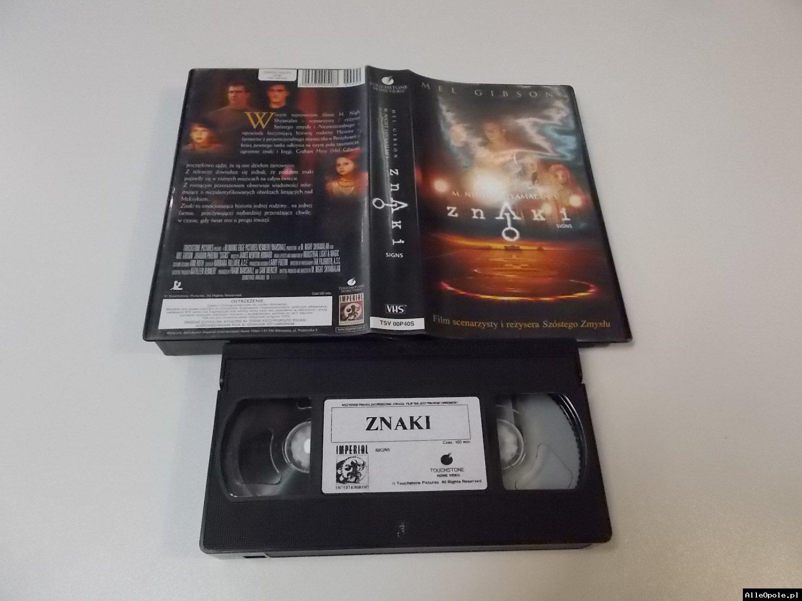 ZNAKI - VHS Kaseta Video - Opole 1718