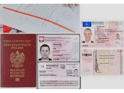 Załatwie prawo jazdy, dowód osobisty, mature z wpisami !!