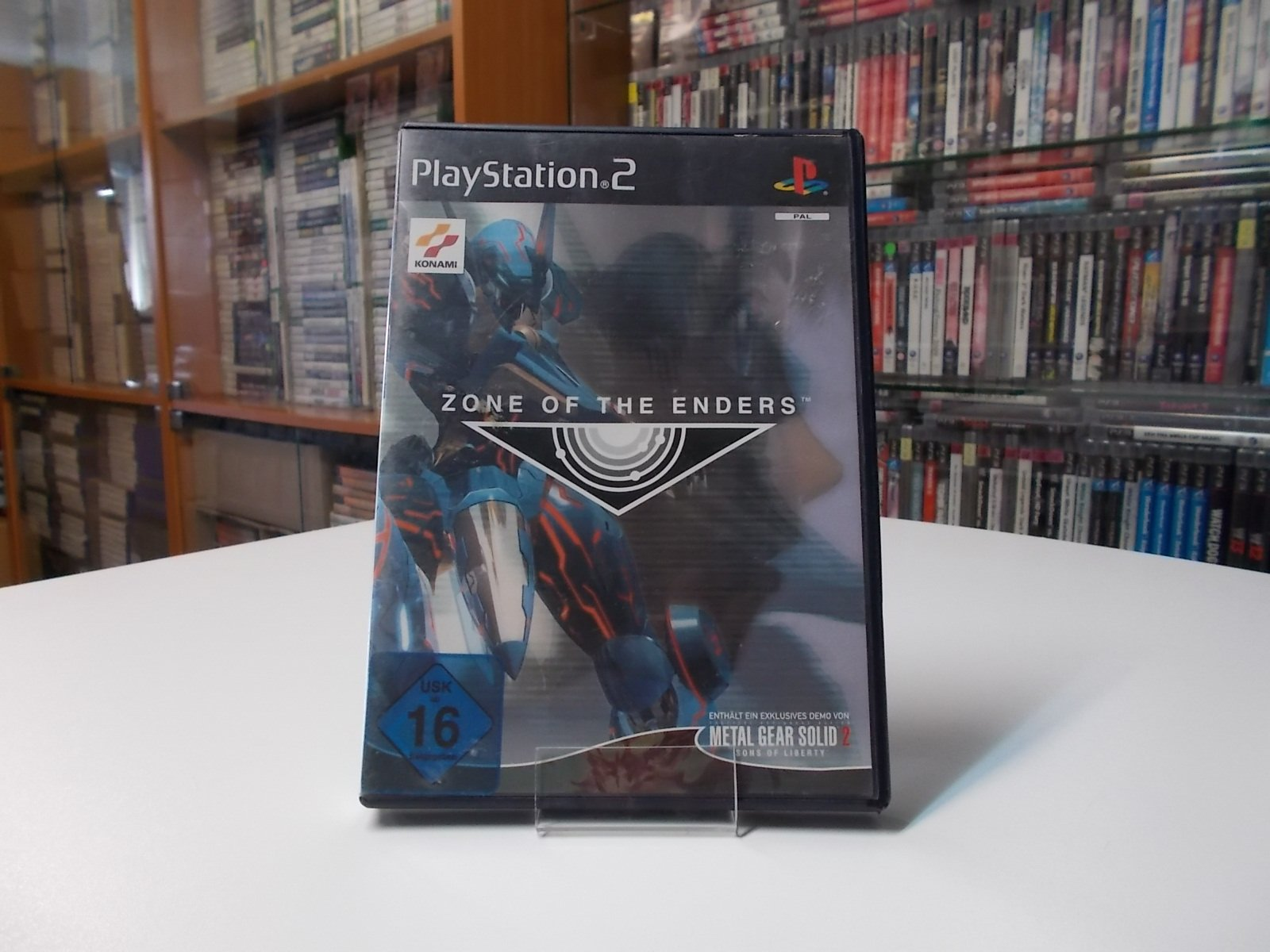 Zone of The Enders - GRA Ps2 - Opole 0499