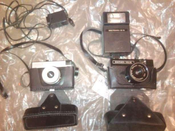 aparaty fotograficzne z fosji stare lata 30 2 szt