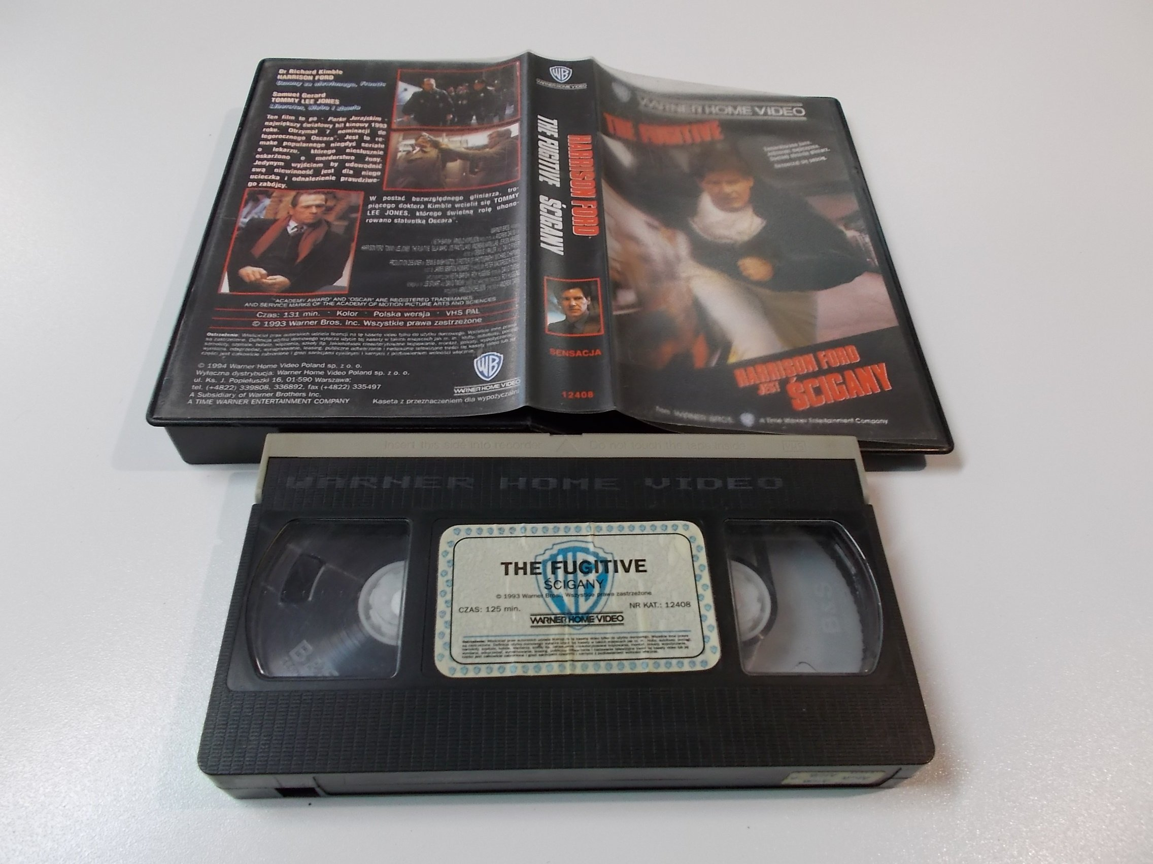 ŚCIGANY - HARRISON FORD - Kaseta Video VHS - Opole 1510