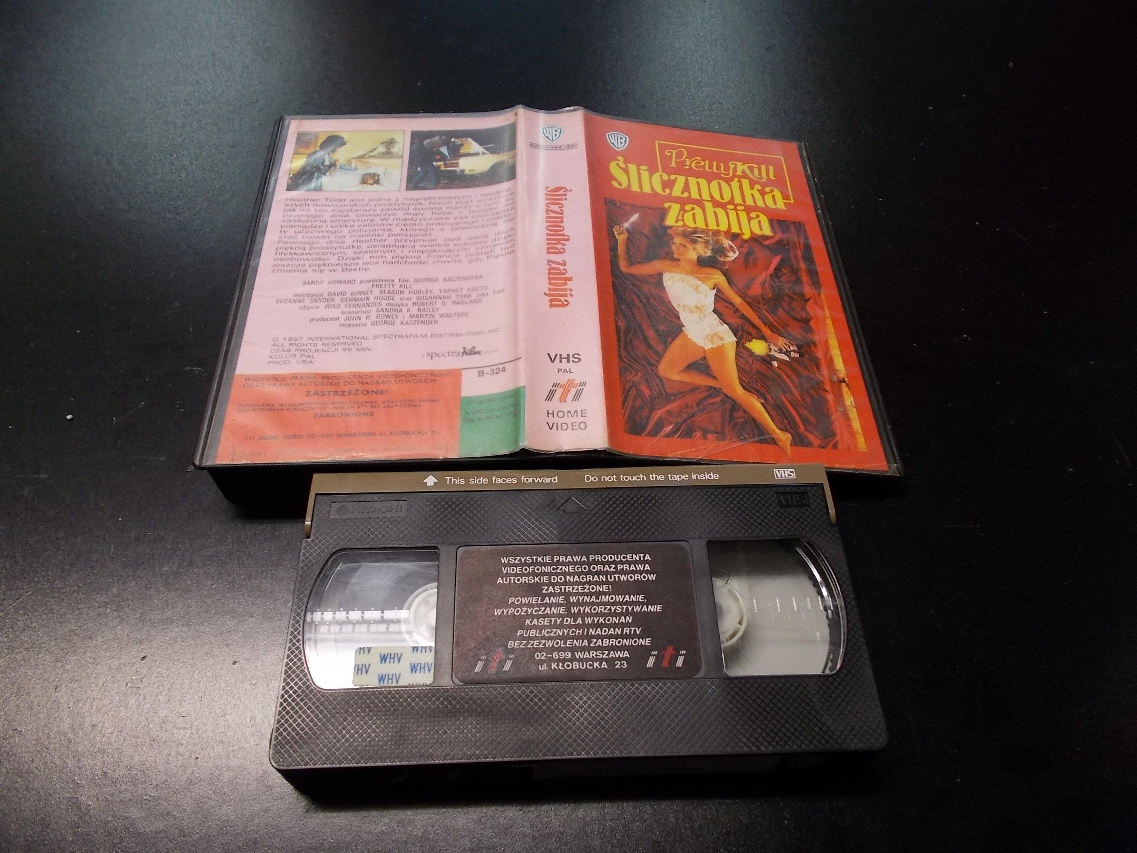 ŚLICZNOTKA ZABIJA -  kaseta VHS - 1233 Opole - AlleOpole.pl