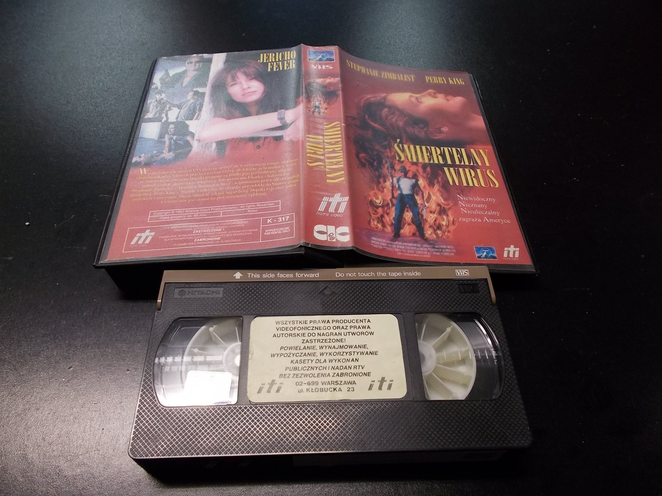ŚMIERTELNY WIRUS -  kaseta VHS - 1235 Opole - AlleOpole.pl
