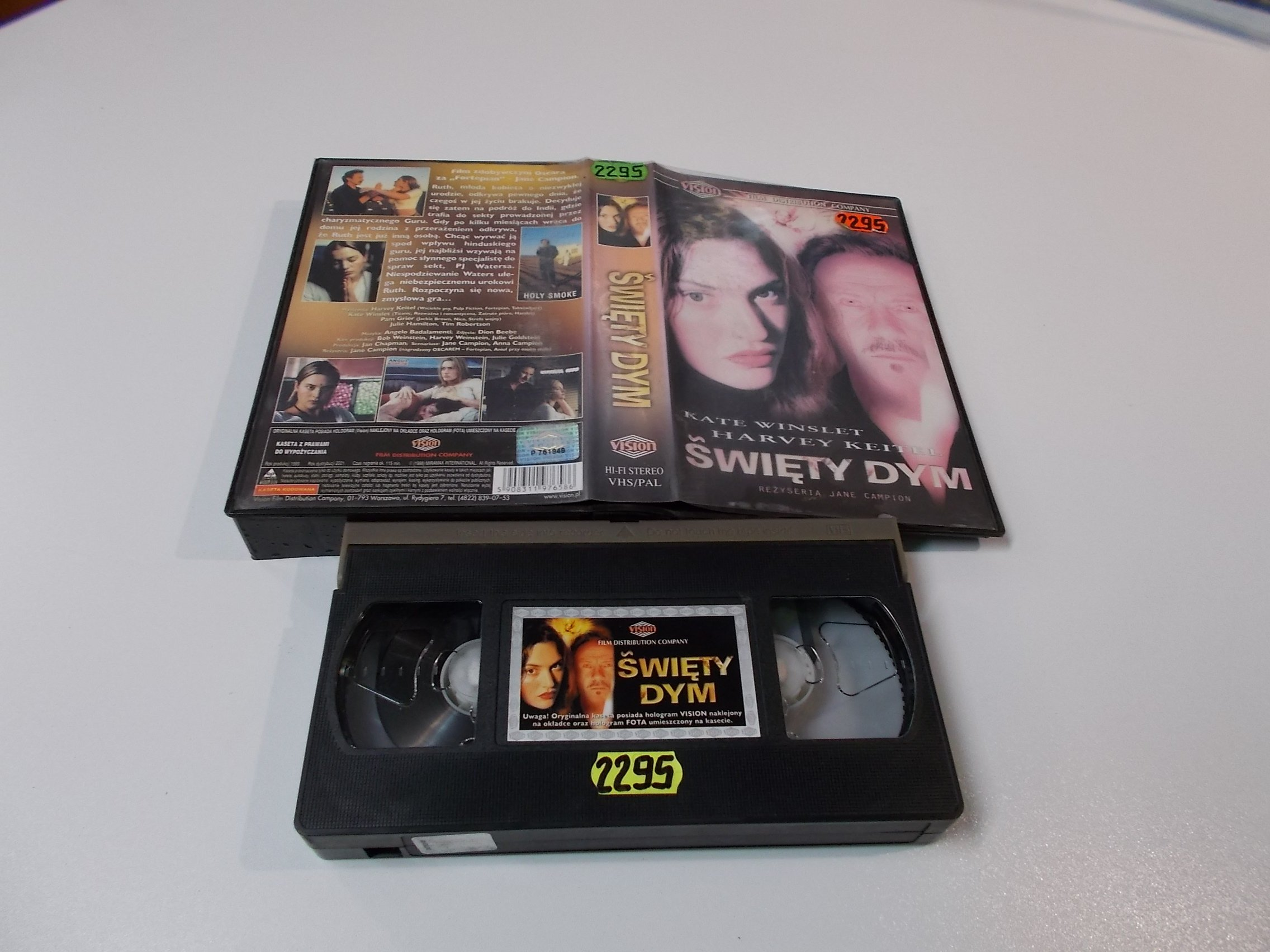 ŚWIĘTY DYM - VHS Kaseta Video - Opole 1603