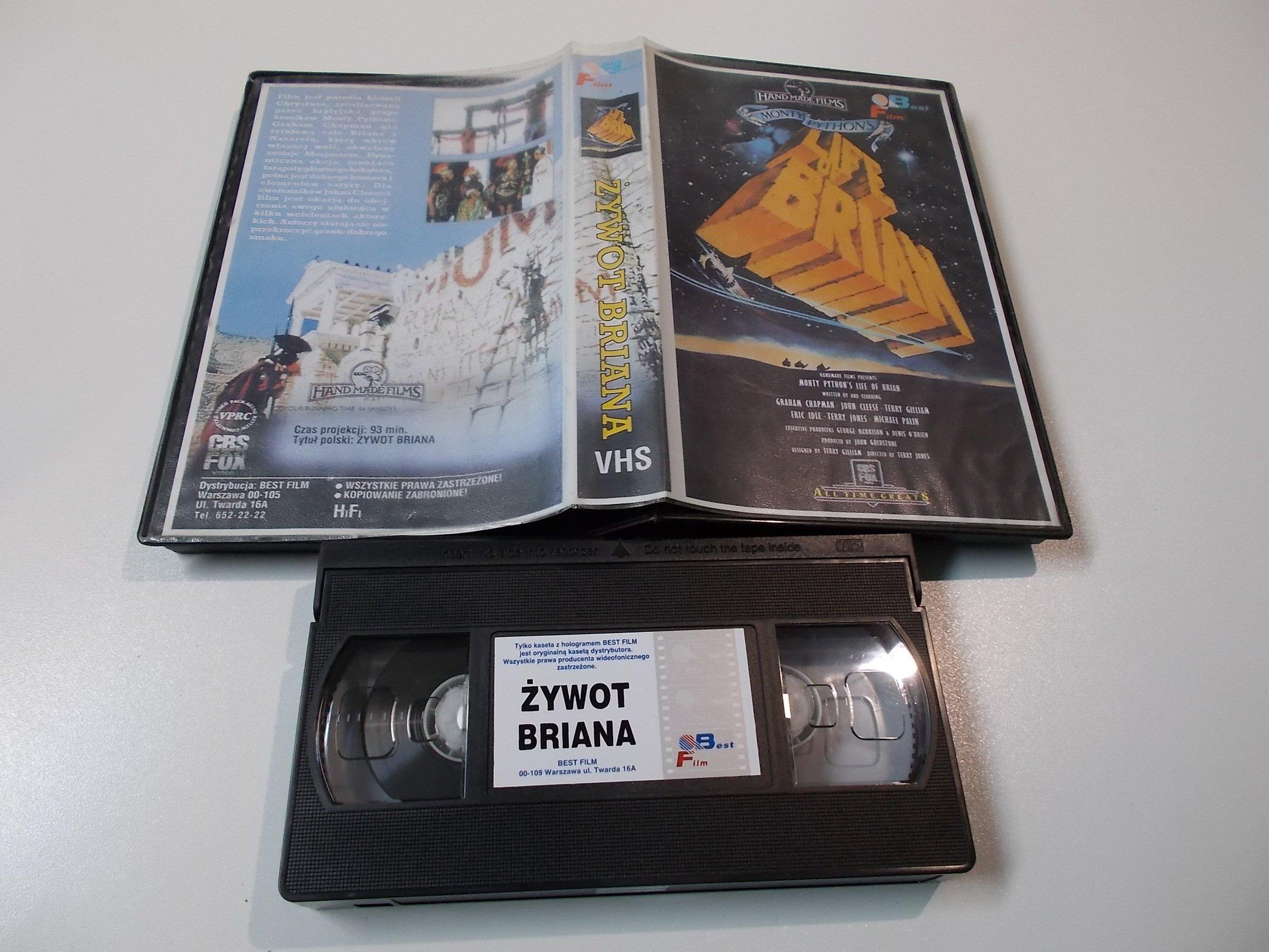 ŻYWOT BRIANA - Kaseta Video VHS - 1478 Opole - AlleOpole.pl