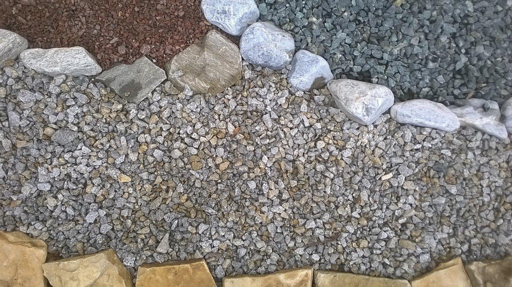 Żwiry i Grysy do ogrodu, kamień ogrodowy