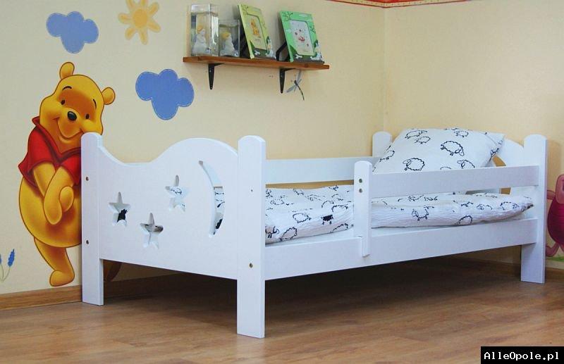 Łóżko dziecięce Karol z materacem