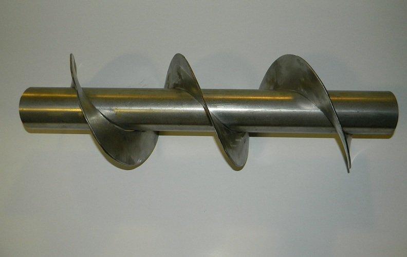 żmijka ślimak sznek świder  ze stali chromowej chromoniklowej kwasowej kwasoodpornej  z kwasówki