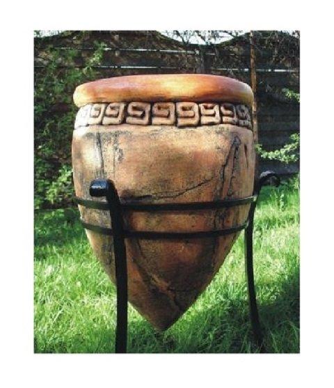 donica ceramiczna na stojaku