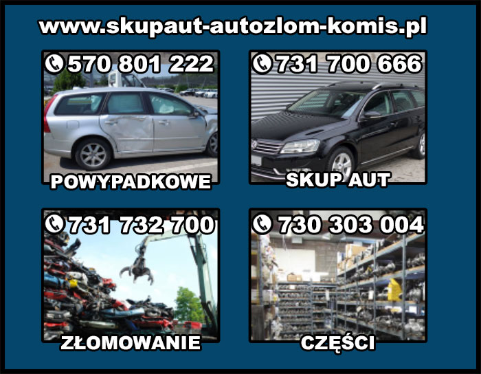 kupię KAŻDE POWYPADKOWE AUTO ŚLĄSK / Skup aut powypadkowych MAŁOPOLSKA
