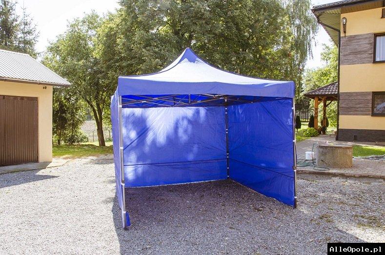namiot handlowy konstrukcja gruba 2x2