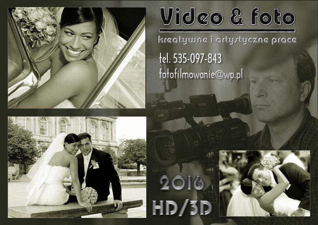 pamiątka ślubna foto i video