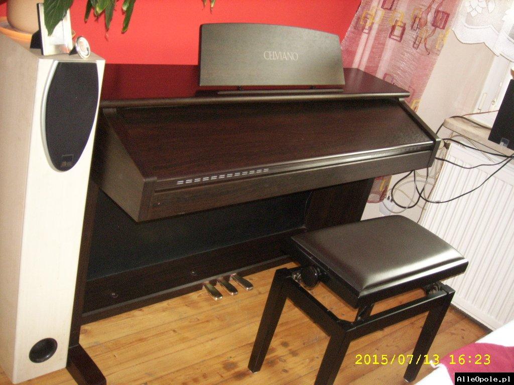 pianino z funkcją keybordu
