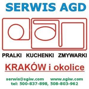pralki zmywarki Kraków naprawa tel. 508-803-962