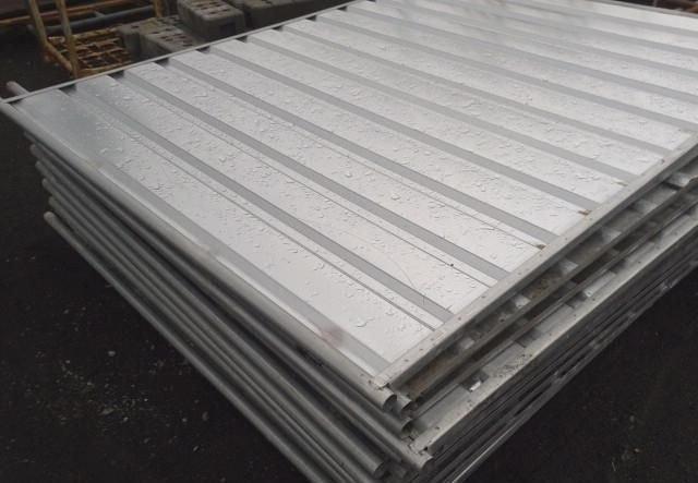przęsła panelowe, ogrodzenie panelowe - pełne
