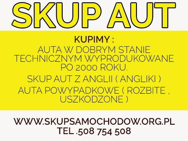 skup audi Chrzanów skup aut Oświęcim Brzeszcze Cały Śląsk /Małopolska /Opolskie