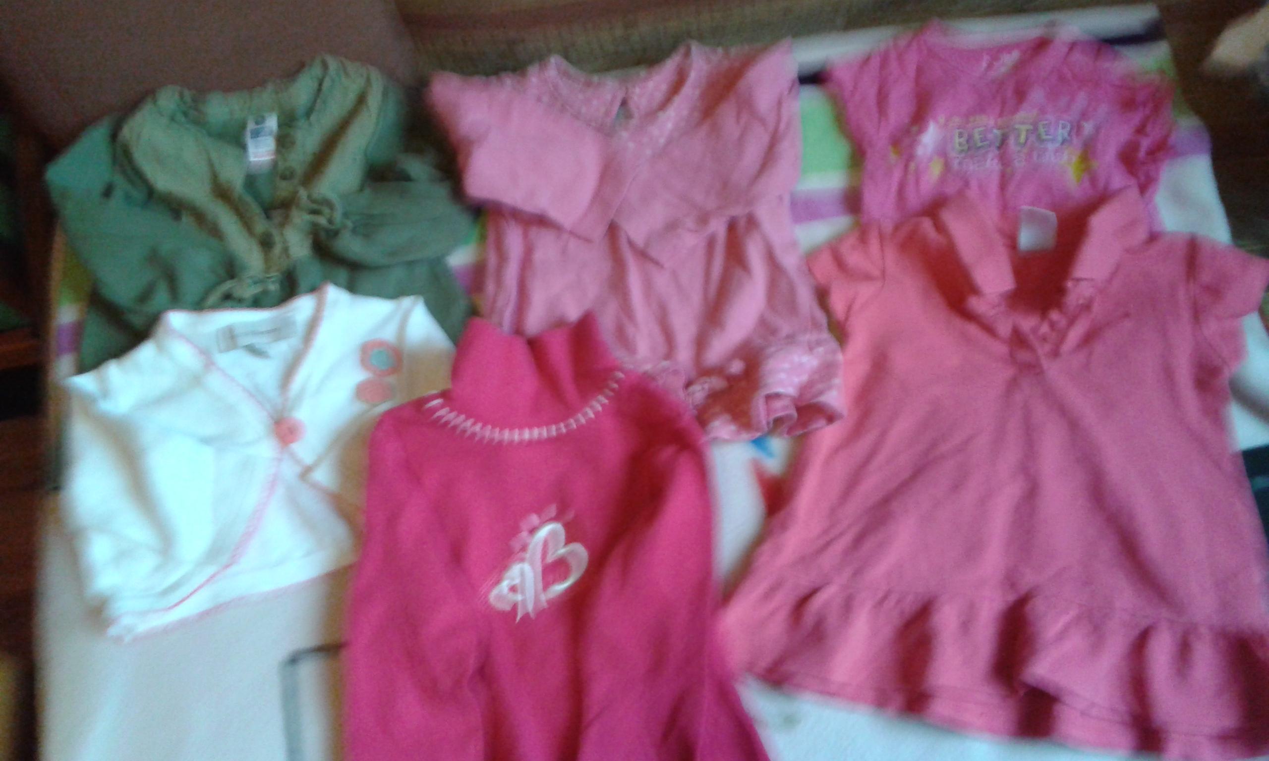 sprzedam ubranka dla dziewczynki r.56-74