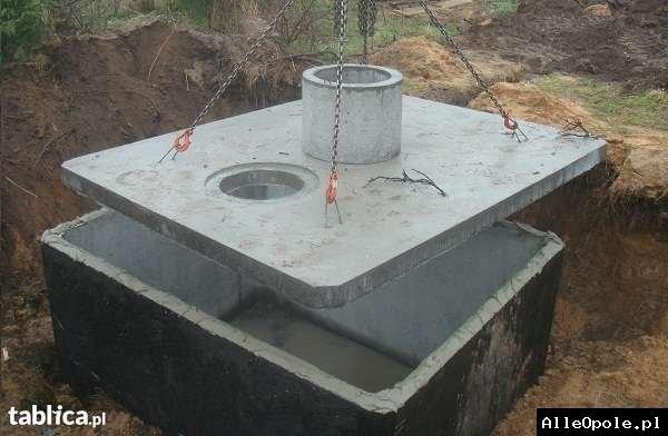 szambo betonowe z atestami i 2-letnią  gwarancją, transportem, montażem