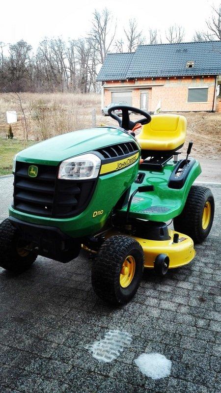 traktorek kosiarka john deere d110