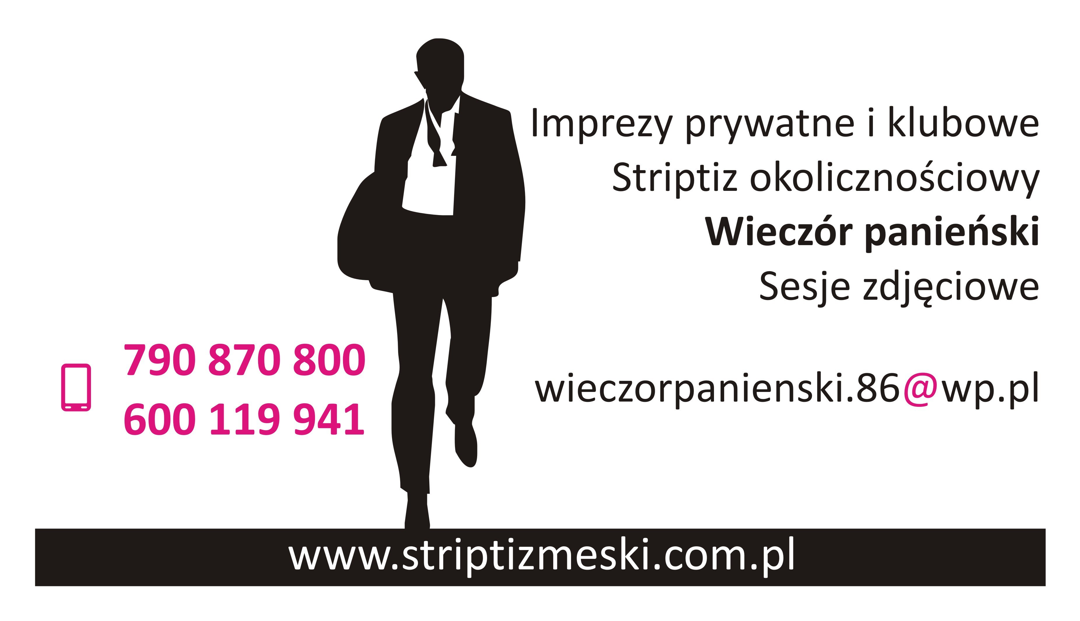wieczor panienski, stirptizer